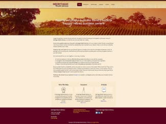 Meritage Wealth Advisory – Mobile Friendly and Then Some