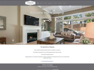 Welcome Home Staging: A Beautiful Site for Beautiful Work