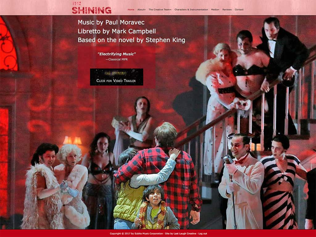 The Shining - An Opera by Paul Moravec